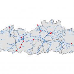 Verspreidingskaart (2007), Rivierprik
