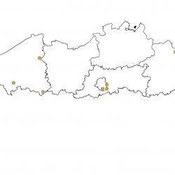Verspreidingskaart (2007), Kleine dwergvleermuis